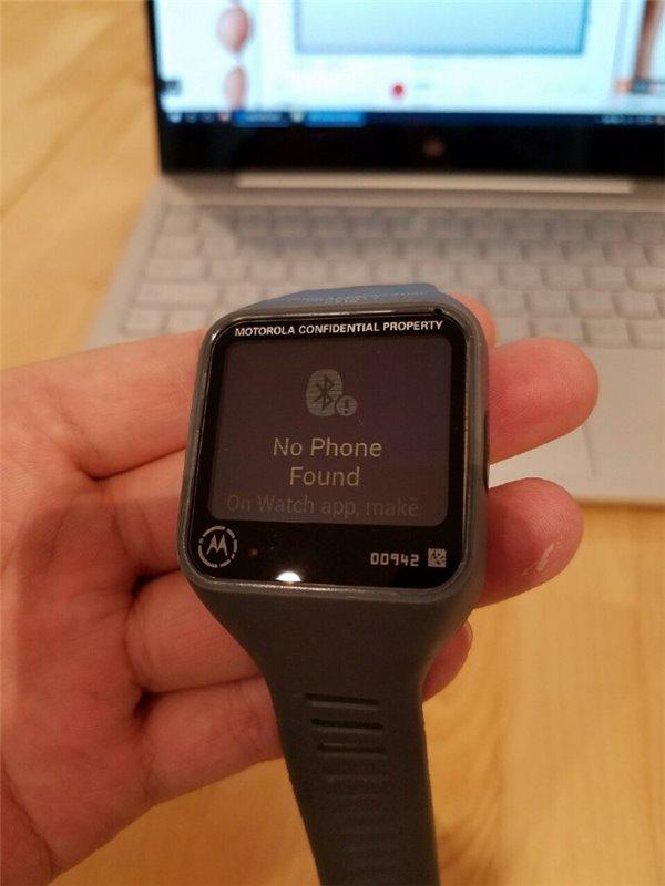 Motorola Smartwatch prototipo