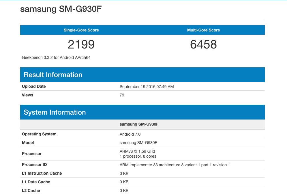 Samsung Android 7 Galaxy S7 ed S7 Edge 1