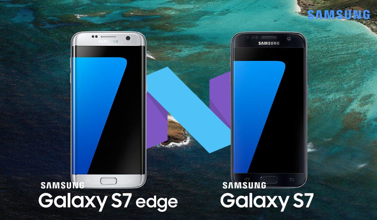 Samsung Android 7 Galaxy S7 ed S7 Edge 4