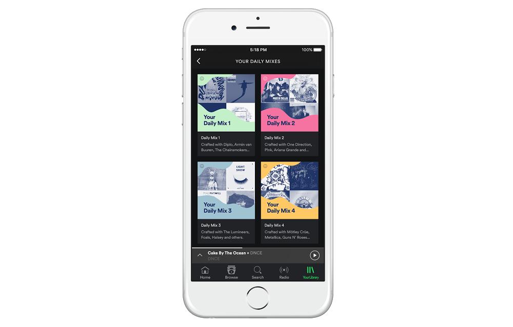 Spotify mezcla diaria