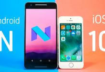 ios 10 nougat android 7