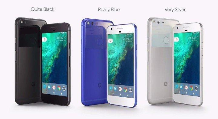google pixel e pixel xl ufficiali