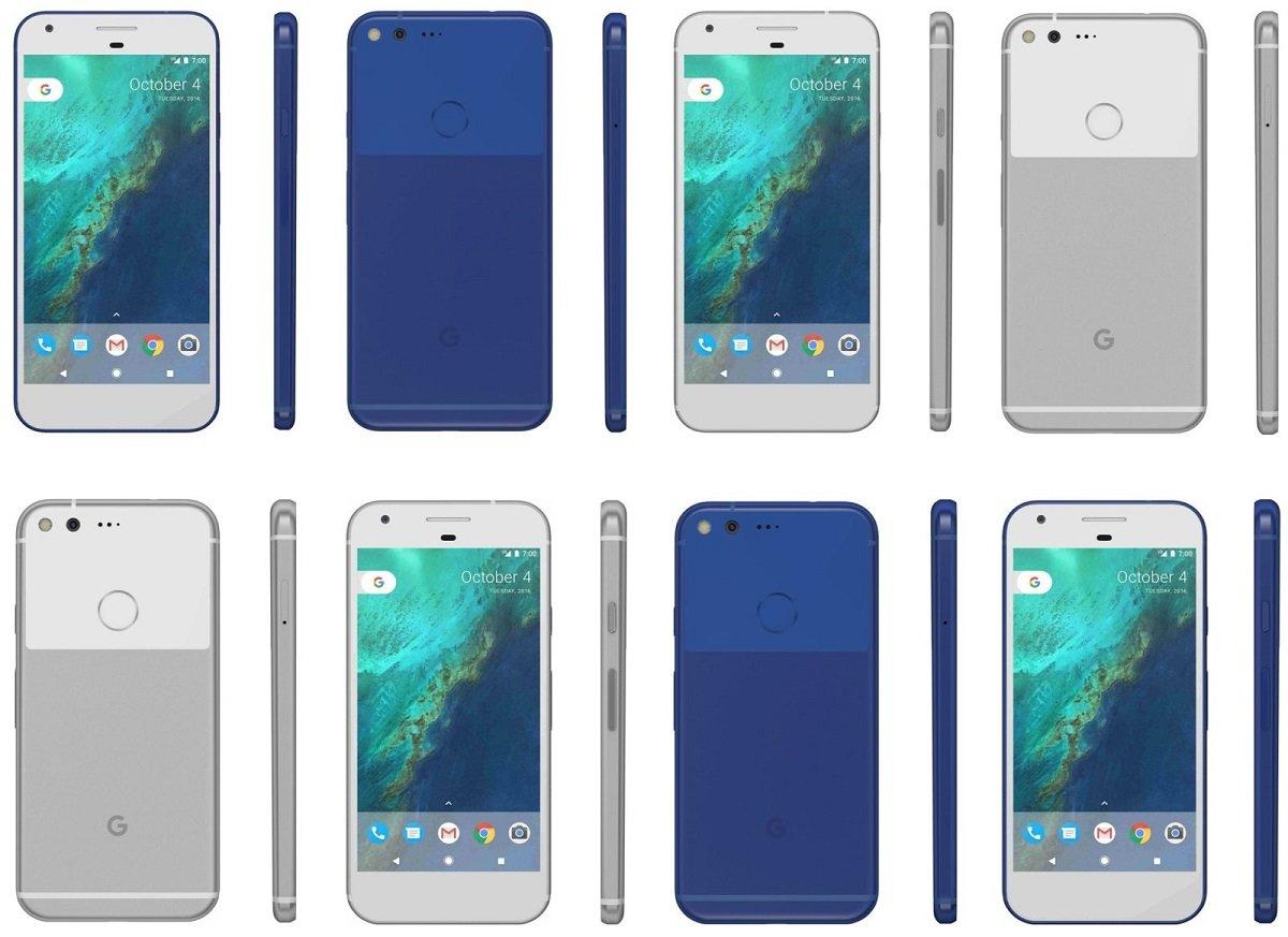 google pixel e pixel xl evleaks