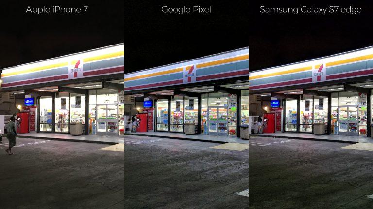 google pixel vs apple iphone 7 vs samsung galaxy s7 edge confronto fotocamera