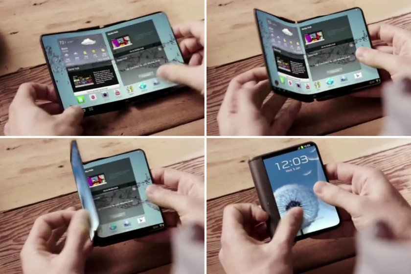 Samsung galaxy x display pieghevole