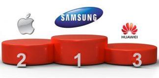 Samsung Apple Huawei Gartner