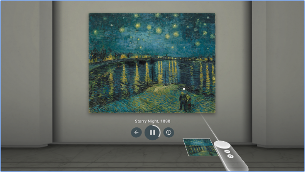 google arts & culture starry night