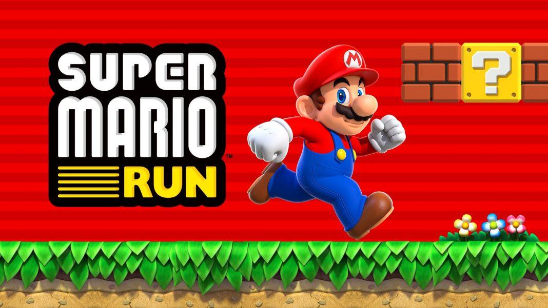 super mario run download record