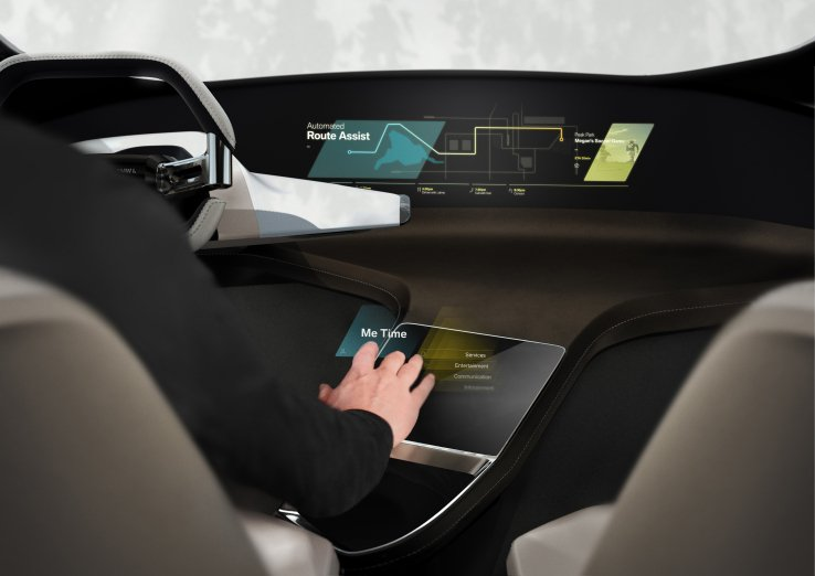 Bmw holotouch ologrammi auto