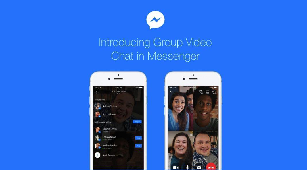 facebook videochat di gruppo