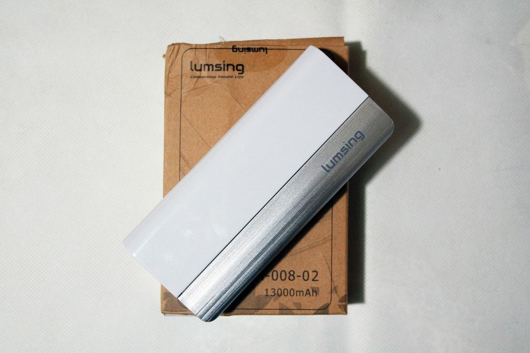 lumsing powerbank 13.000 mah