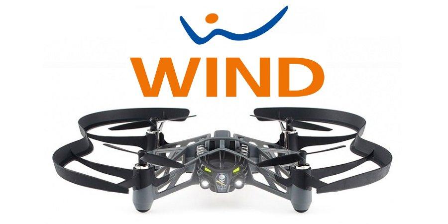 wind magnum drone parrot