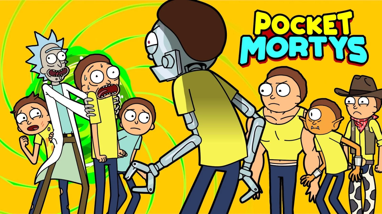 rick morty android iphone