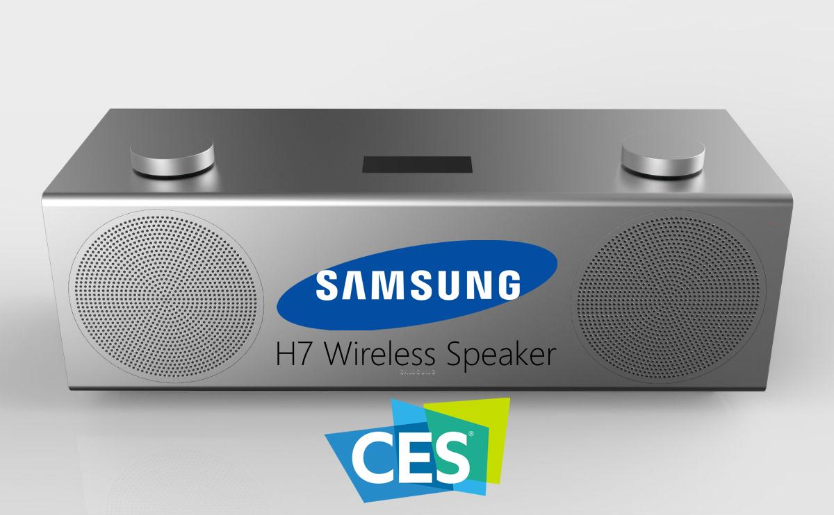 samsung h7 speaker wireless ces 2017