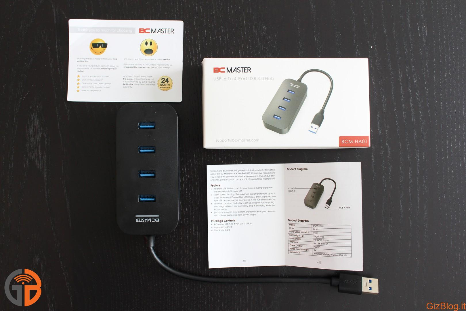 BC Master USB Hub