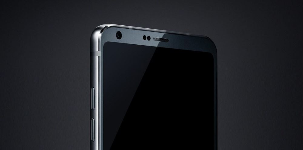 LG G6 render pannello frontale