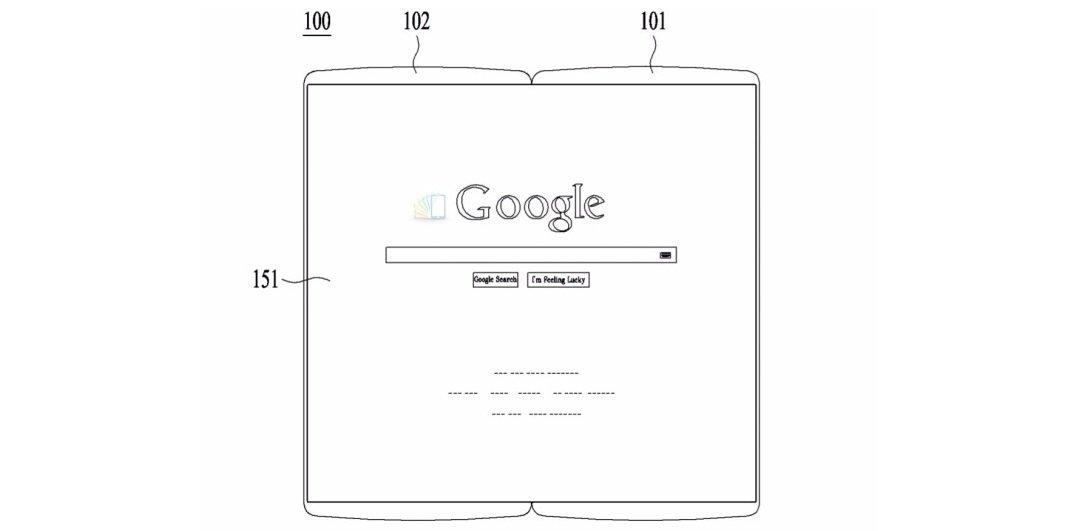 lg brevetti smartphone pieghevoli