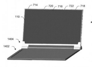Microsoft dispositivo pieghevole brevetto