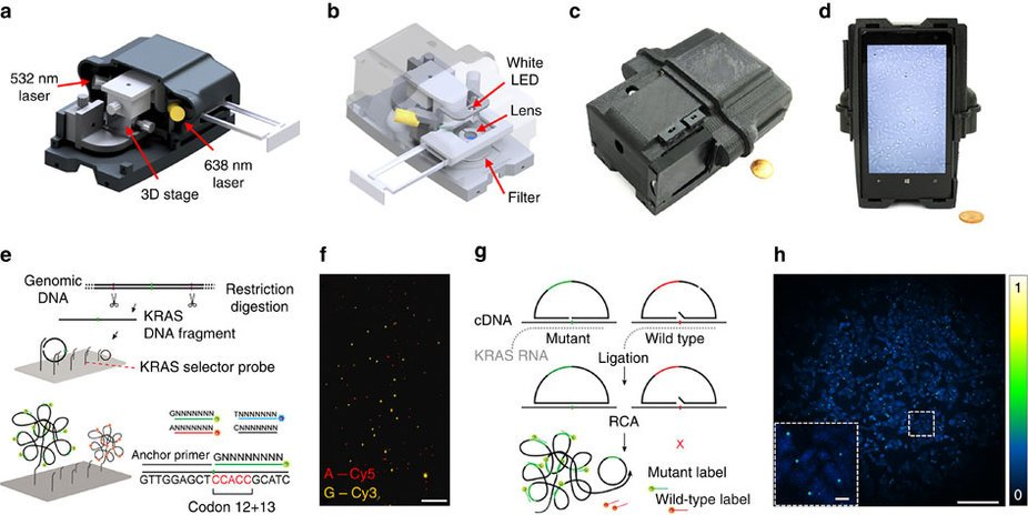 nokia lumia 1020 microscopio