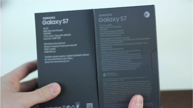 Samsung Galaxy S7 vs Fake