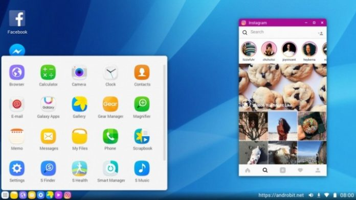 samsung galaxy s8 desktop experience