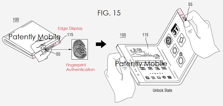 samsung brevetti smartphone pieghevoli