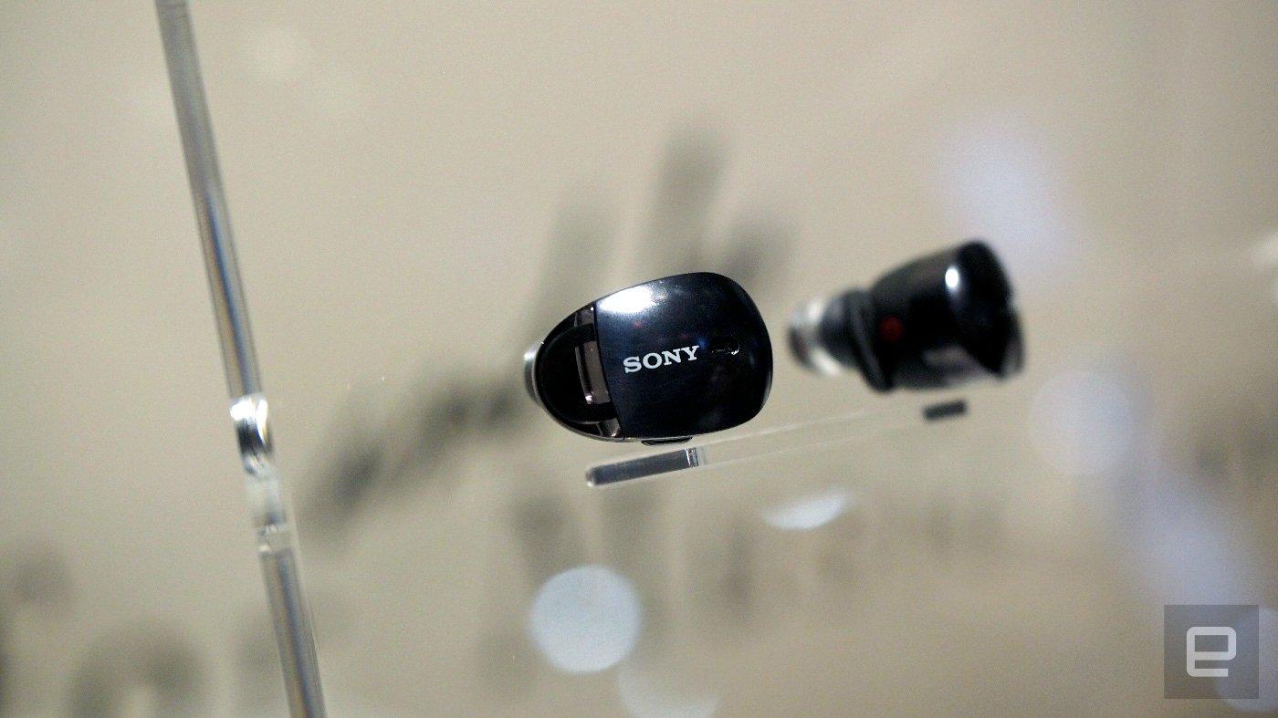 Sony CES 2017 беспроводные наушники