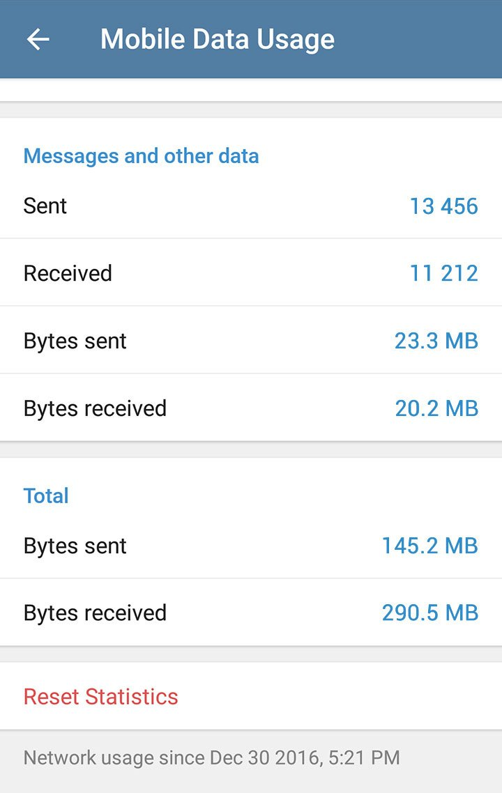 Telegram 3.16