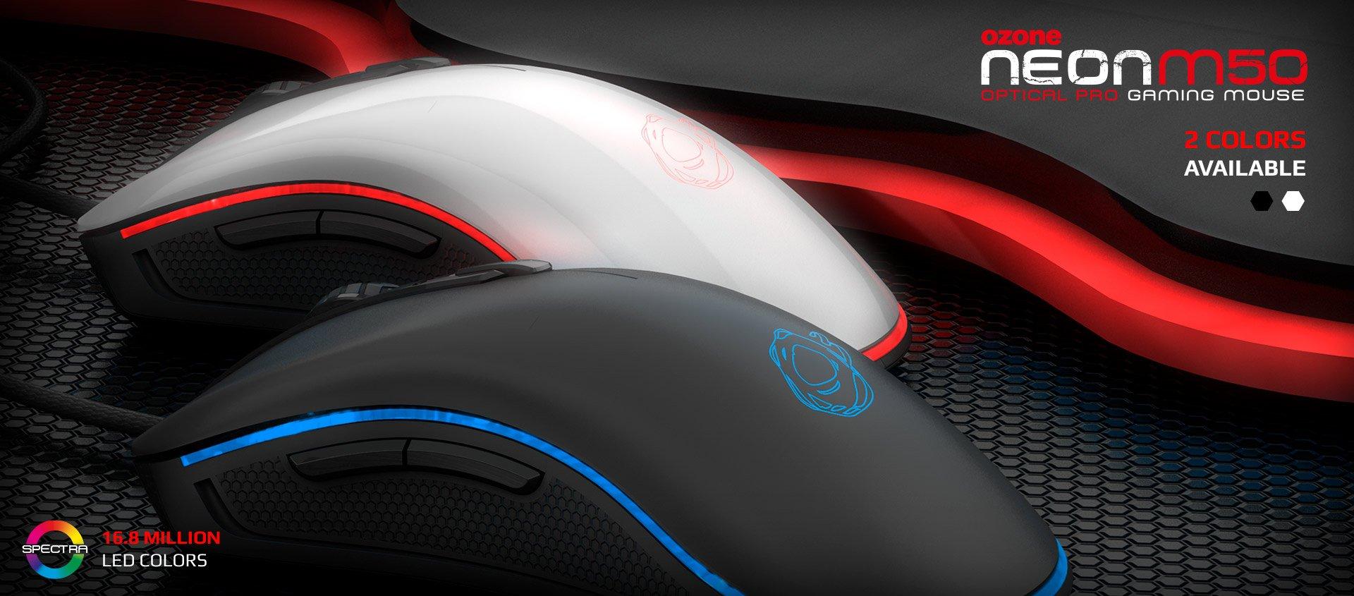 Ozone Neon M50: Mouse óptico para jogos
