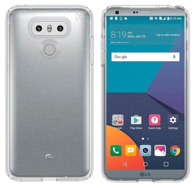 LG G6 render evleaks