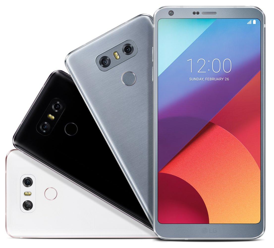 LG G6 render tre colori Evleaks