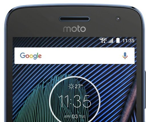 Lenovo Moto G5 Plus Verizon evleaks