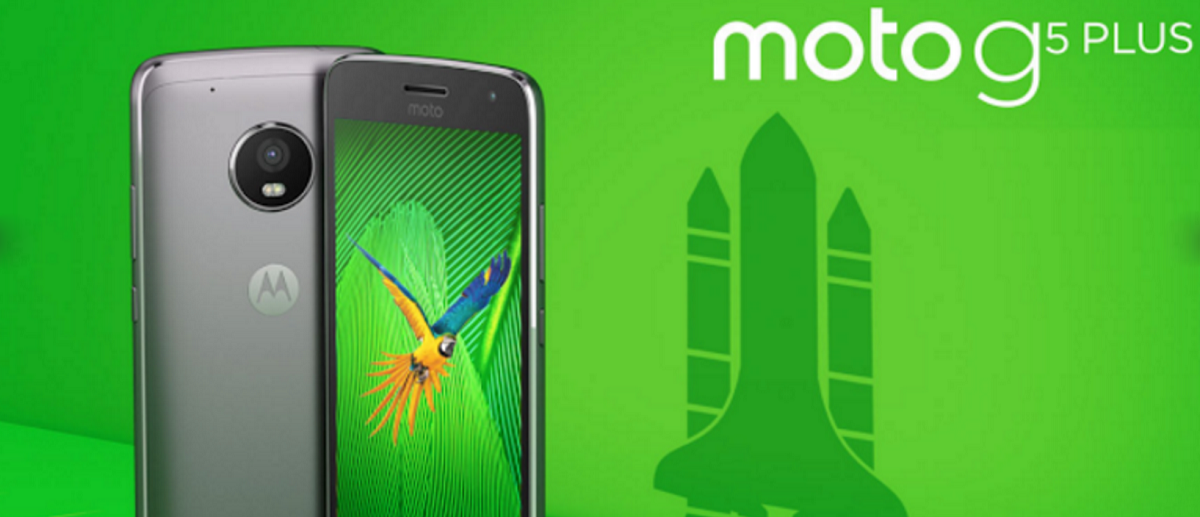 Lenovo Moto G5 Plus render