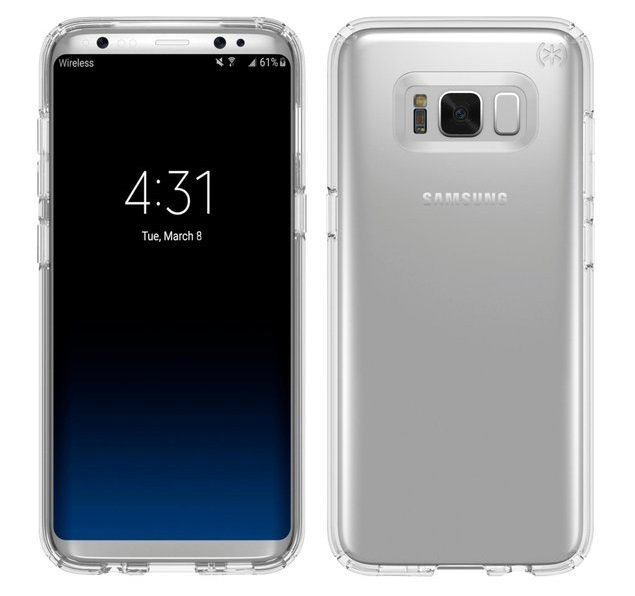 Samsung Galaxy S8 render evleaks