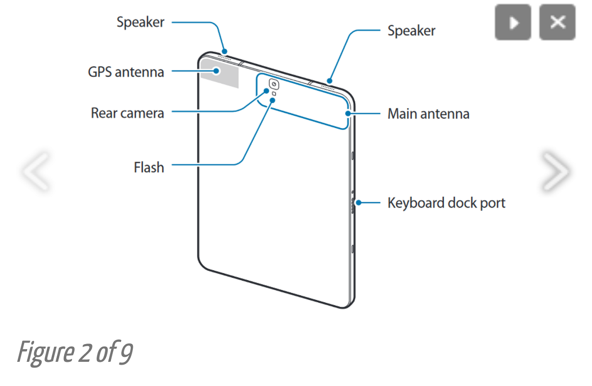 Samsung Galaxy Tab S3: here is the user manual of the tablet