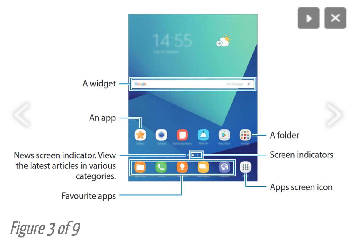 Samsung Galaxy Tab S3 manuale utente