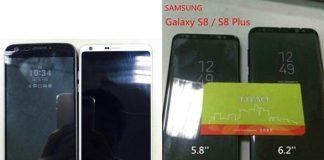 samsung galaxy s8 plus lg g6 g5