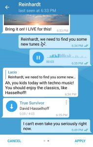 Telegram temi personalizzati