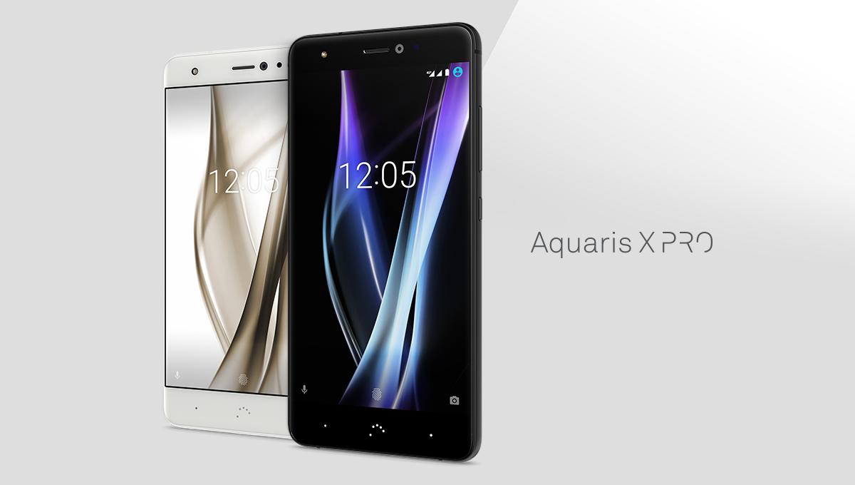 Bq Aquaris X Pro Android 8