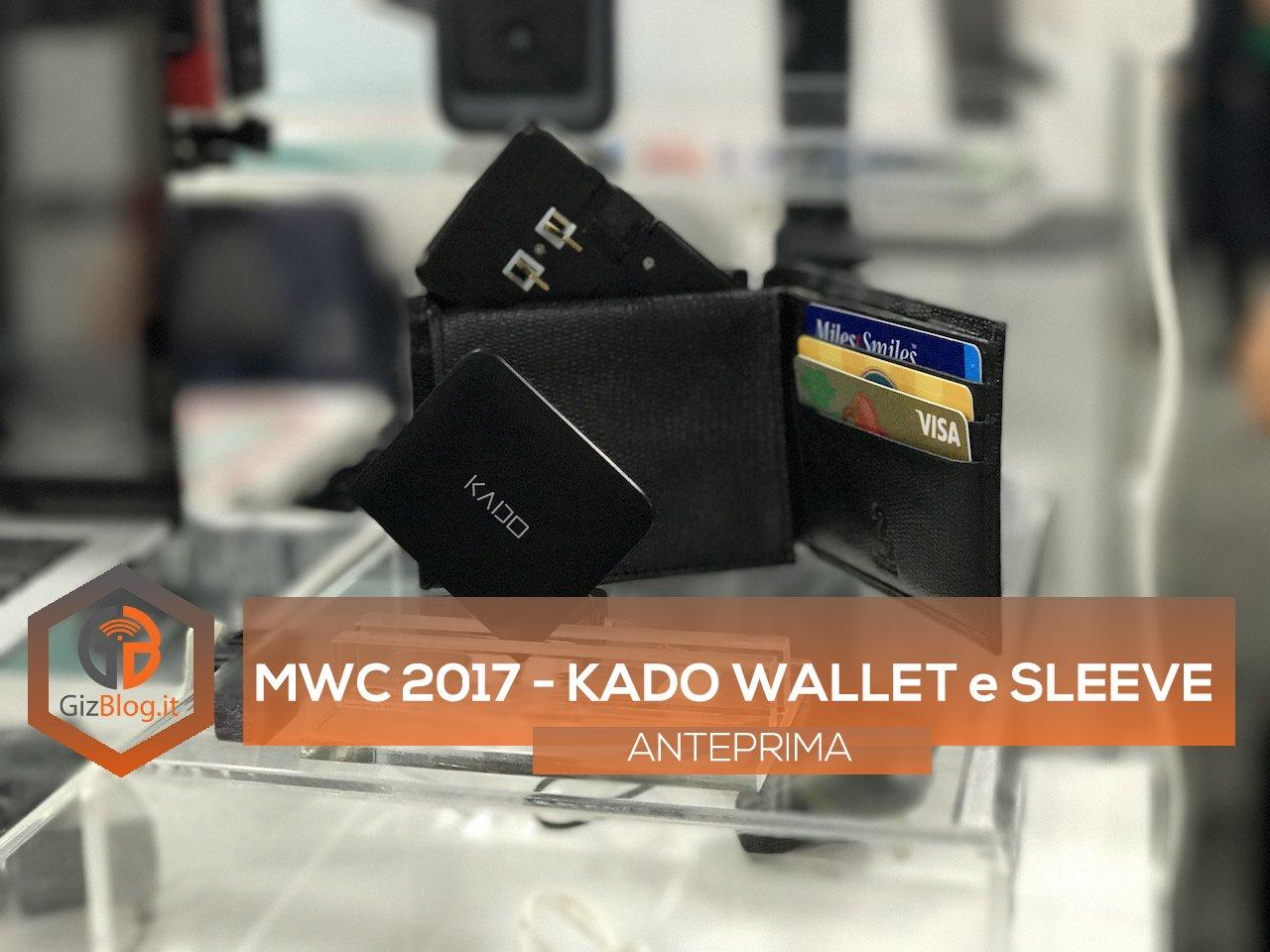 Kado Wallet Kado Sleeve MWC 2017