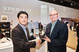 Sony Xperia XZ Pro Glomo Награды MWC 2017