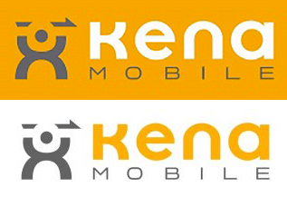 Logotipo de Kena Mobile TIM