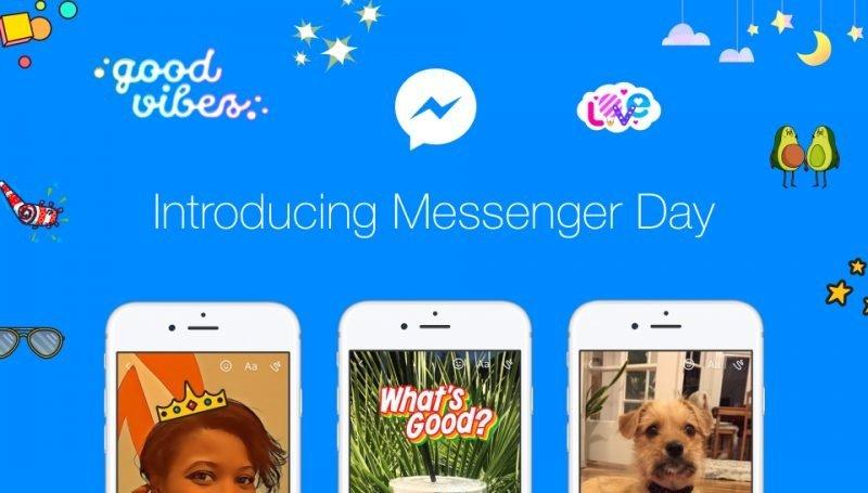 messenger day storie