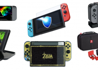 nintendo switch accessori