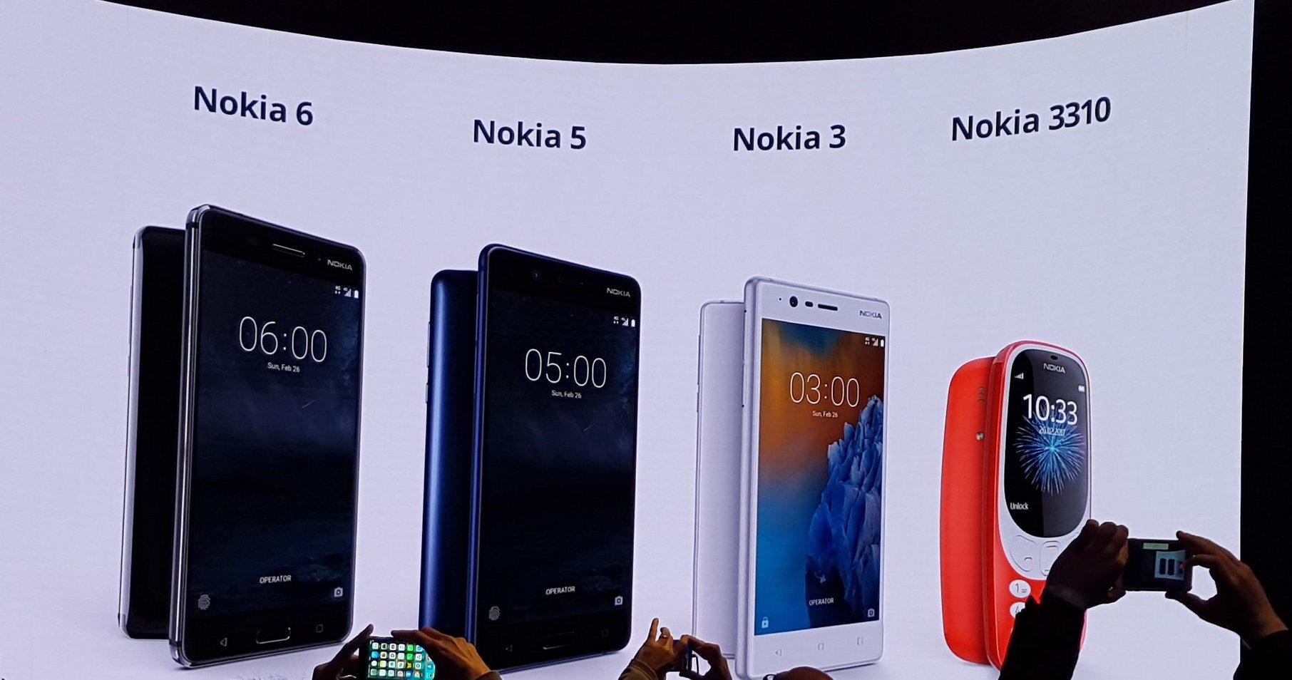 Nokia 3310 3 5 6 MWC
