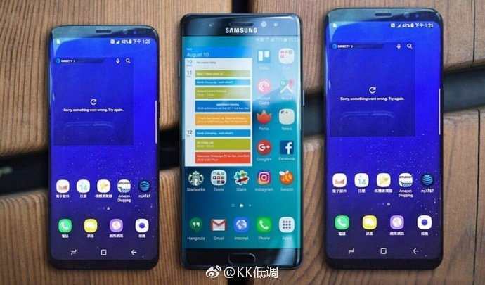 samsung galaxy s8 note 7