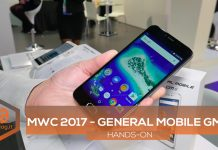 General Mobile 6 MWC 2017