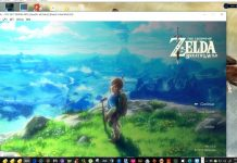 the legend of zelda breath of the wild cemu emulatore pc