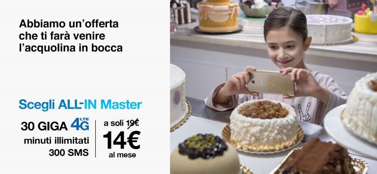 3 Italia All-in master