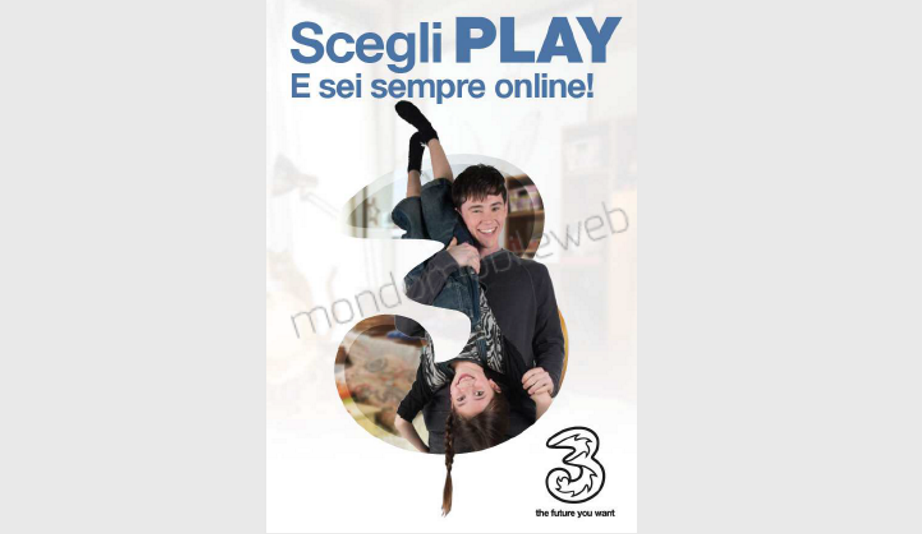 3 italia play offerta